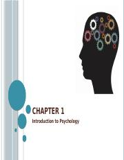 ch 01a Introduction to Psychology 2015-08-19