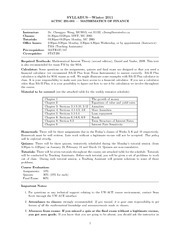 Syllabus_actsc231_Winter10