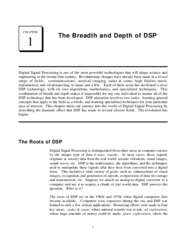 CH1 - Breadth of DSP