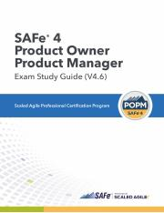 SAFe 4 Product Owner Product Manager Exam Study Guide (4.6).pdf