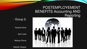 NEW-POSTEMPLOYEMENT BENEFITS AND ACCOUNTING_Group 2