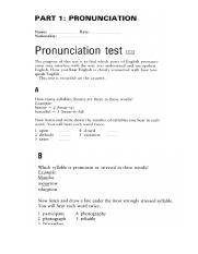 pronunciation test.docx
