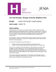 CfE_Unit_H_ArtandDesign_DesignActivity