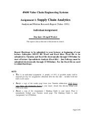 Assignment 1_Supply Chain Analytics_V1 A17