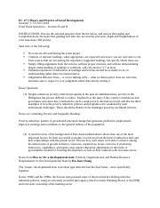 EC 177 - Final Exam Questions.docx