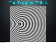 Lecture 17 Doppler effect