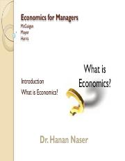 Economics for Managers_chapter 1