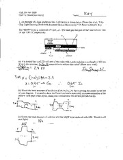 Quiz 12 ChE 350 F09 Solutions