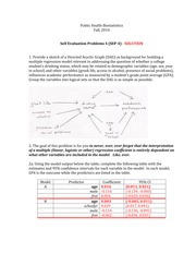 self evaluation problems set 4 - 2014 - SOLUTION