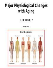Lecture 7_C2g_Physiological changes with aging