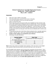 FederalTrademarkandCopyrightRegistrationPractice_Lembree_Spring2011_F