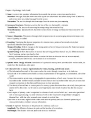 Chapter 4 Psychology Study Guide