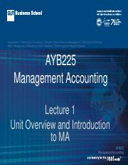 AYB225 Lecture 01 Sem  2016 (1)