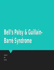 8 Bell's Palsy & Guillain-Barré Syndrome - neuro.pptx