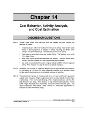 ACC 510 VT51_ Homework Solutions (Chapter 14)