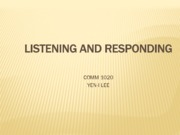 0211-Listening and Responding