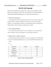 MATLAB-Tutorial-1