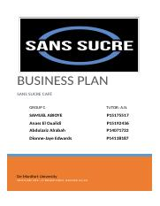 bussiness plan San Sucre