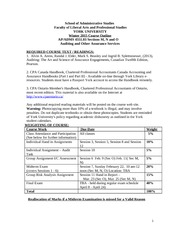 4551 winter 2015 detailed course outline all sections January 2015-2