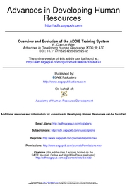 ADDIE.overview