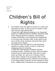 childrens bill of rights.docx