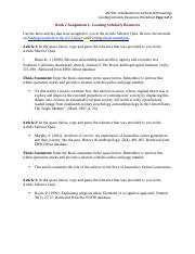 ANT101 W2 AssignmentWorksheet_2.9.15.docx