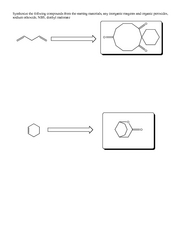 Condensation Reactions problems