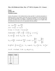Midterm2 Phys120Spring2015