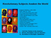 Revolutionary Subjects Awaken the World