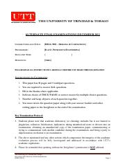 2012_DRLG3001_Drilling and Completions alternate exam Dec 2012
