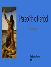 Paleolithic Period