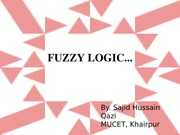 fuzzy concepts in engineering control 4