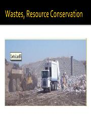 Wastes, Resource Conservation, CERCLA
