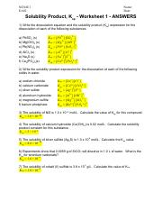 EC10 - Electrolysis and Electroplating - Worksheet 2 - ANSWERS pdf