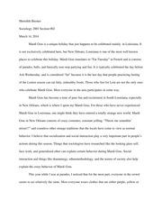 crash sociology essay