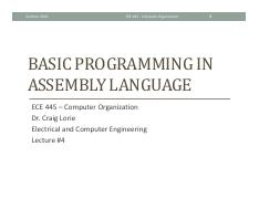 Lecture 4 - Basic programming in Assembly.pdf