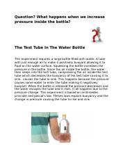 Test Tube In Water.docx