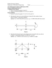 Practice Problems for Exam2