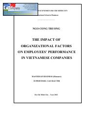 The-impact-of-organizational-factors-on-employees-performance-in-vietnamese-companies