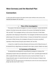 Germany Extended Essay Summary