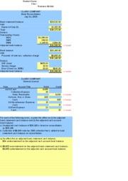 Acc 225 week 8 assignment internal