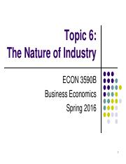 Topic 6. The Nature of Industry.pdf