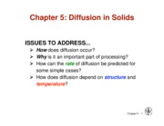 Lecture 11 - Ch 5 pt 1