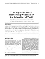 The-Impact-of-Social-Networking-Websites-on-the-Education-of-Youth