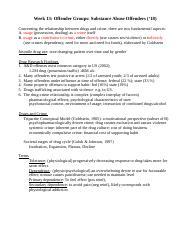 PSYCH 230 : Psychology of Criminal Behavior - U of S - Course