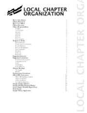2012-13 PBL Local Chapter Organization