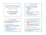 psyc 100 chapter 15 part 1 outline