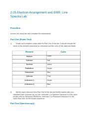 02 05 electron arrangement and emr line