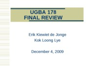 UGBA_178_Final+Review_12.4.09v3