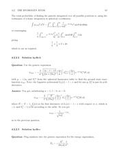 Fund Quantum Mechanics Lect & HW Solutions 61